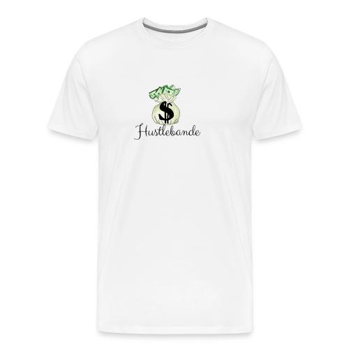 Hustlebande Logo - Männer Premium T-Shirt