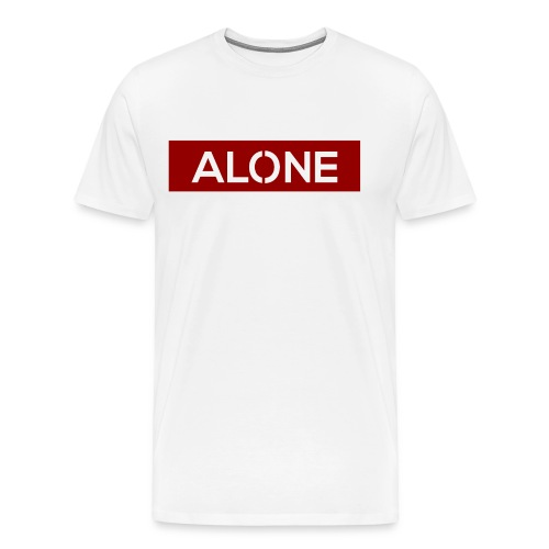 Alone RED Edition - Maglietta Premium da uomo