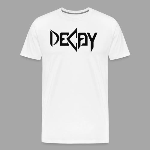 Zwart Logo - Mannen Premium T-shirt