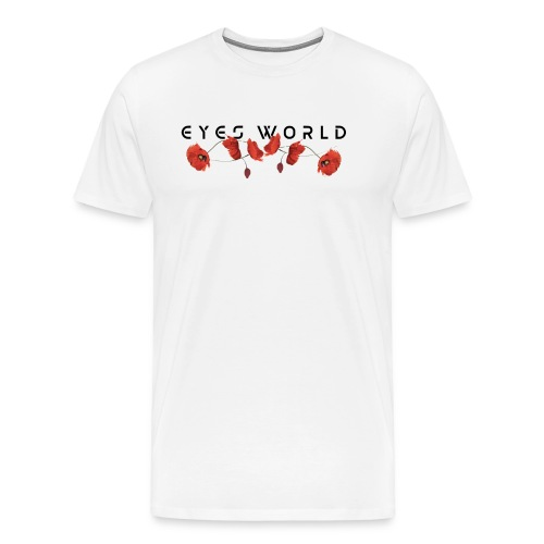Eyes world flower - T-shirt Premium Homme