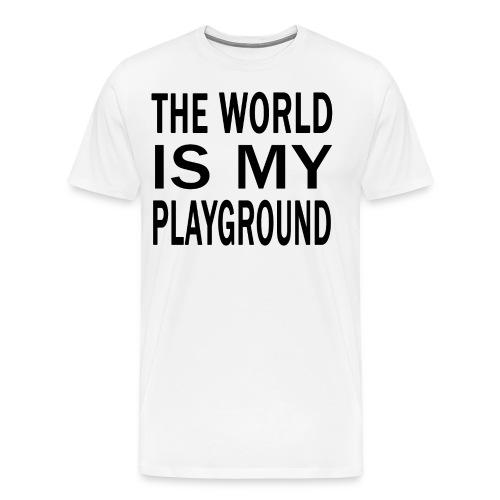 theworldismyplayground SC - Männer Premium T-Shirt