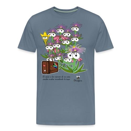 Invasiones biológicas. - Camiseta premium hombre
