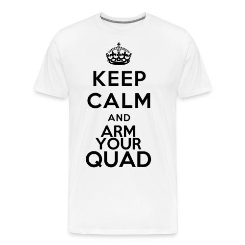 keepcalm - ArmyourQuad - Maglietta Premium da uomo