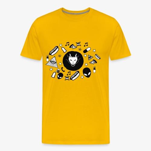 TRIPPY - Mannen Premium T-shirt
