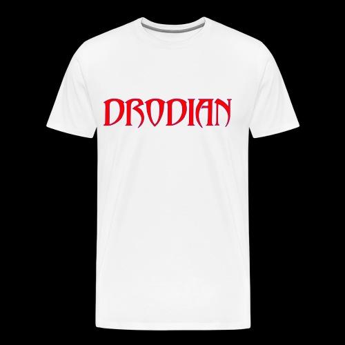 DRODIAN PURPLE RED ALT - Men's Premium T-Shirt