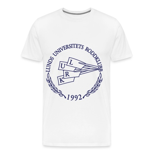 LURK blue logo print - Men's Premium T-Shirt