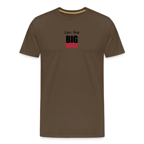 I am the big boss - T-shirt Premium Homme