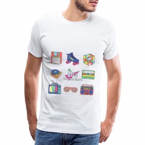 Multi Ultime fan's 80's A&Y - T-shirt Premium Homme