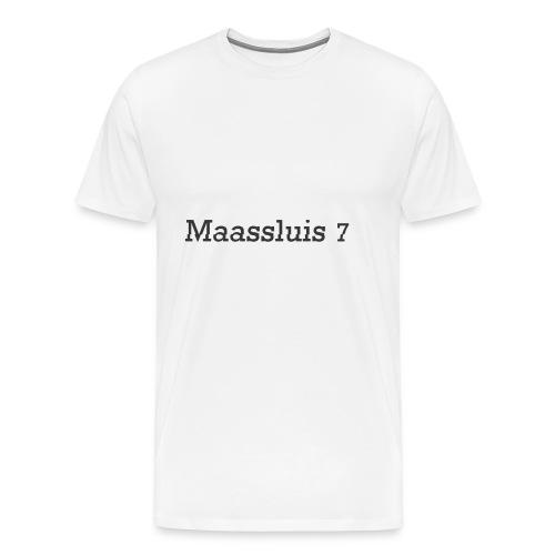 Maassluis 7Seven - Black Edition - Mannen Premium T-shirt