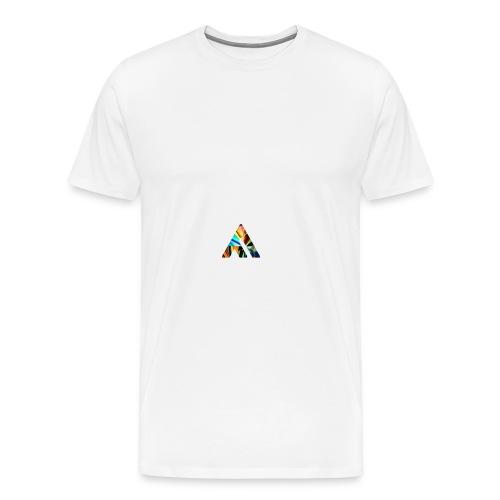 A - Herre premium T-shirt