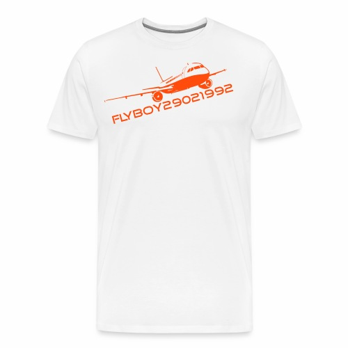 Flyboy29021992 Logo - Men's Premium T-Shirt