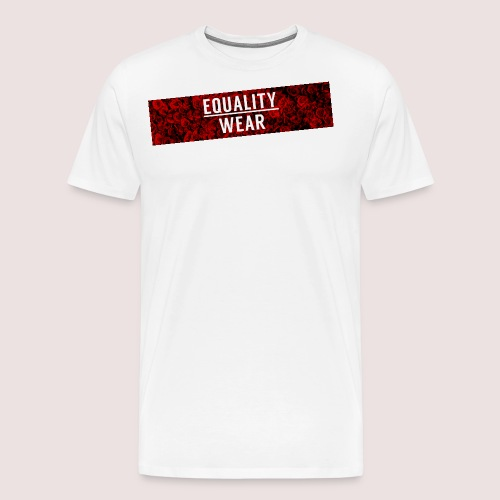 Equality Wear Long Rose Print Edition - Men's Premium T-Shirt