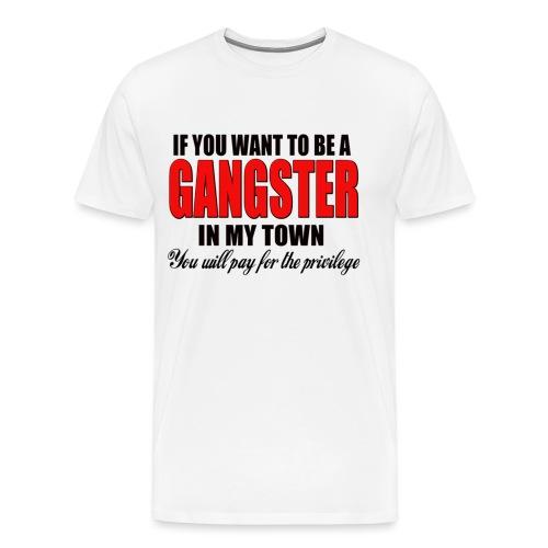 ville gangster - T-shirt Premium Homme