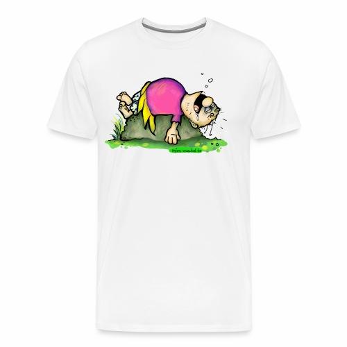 Die schnarchende Pummelfee - Männer Premium T-Shirt