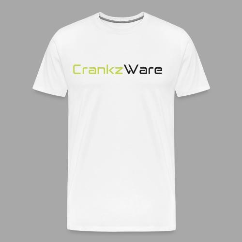 CrankzWare Tech-Font - Männer Premium T-Shirt