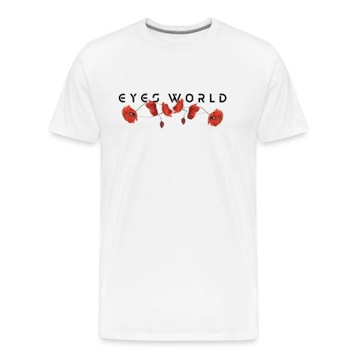 Eyes world flower - T-shirt Premium Homme