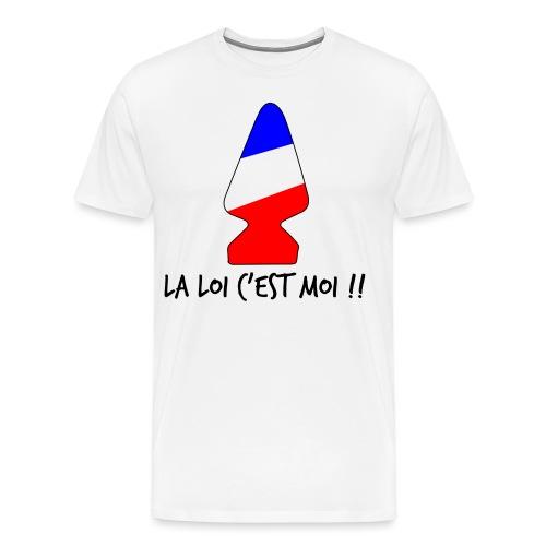 la loi c est moi - T-shirt Premium Homme