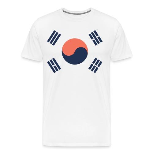SYDKOREA EDIT - Premium-T-shirt herr