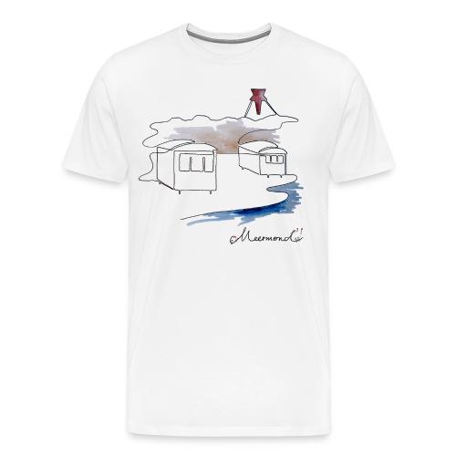 Blokhus 1 - logo - Herre premium T-shirt