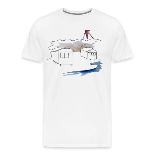 Blokhus 1 - Herre premium T-shirt