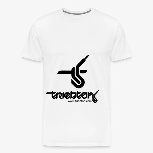 Triebton Schriftzug - Männer Premium T-Shirt