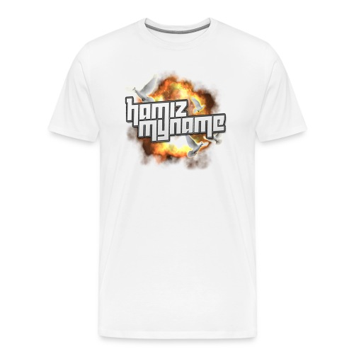 ham shirt logo 2 png - Men's Premium T-Shirt