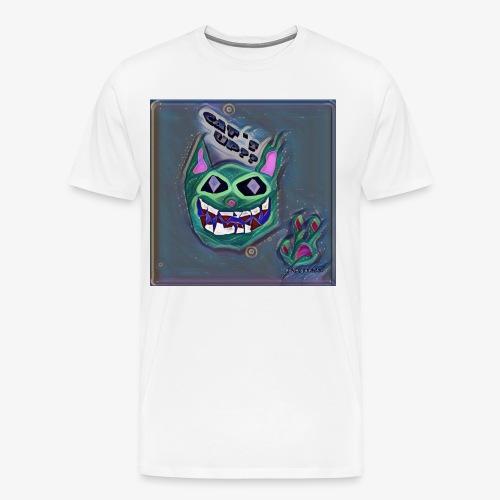 CAT´S UP? - Camiseta premium hombre
