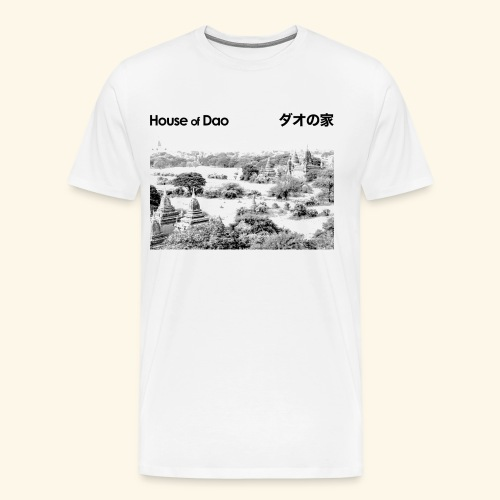 House of Dao - Temple BW - Männer Premium T-Shirt