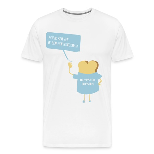 Boterham SEF - Mannen Premium T-shirt