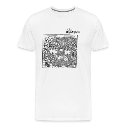 Transparent Beastie - Men's Premium T-Shirt