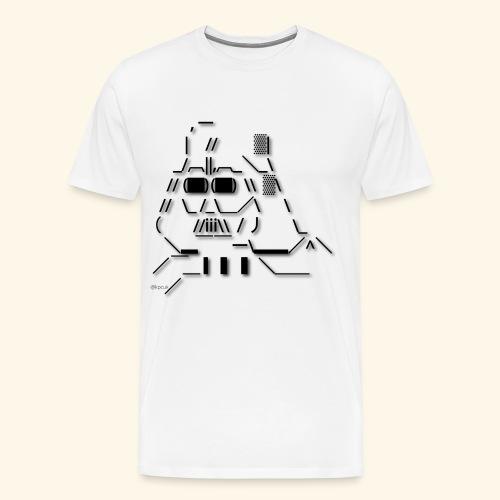 NewDarth2-kpcuk-01 - Men's Premium T-Shirt