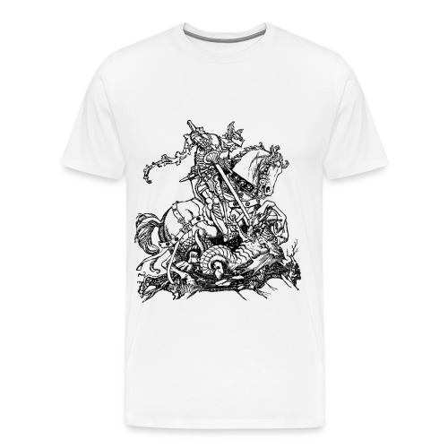 England and St George. - Men's Premium T-Shirt