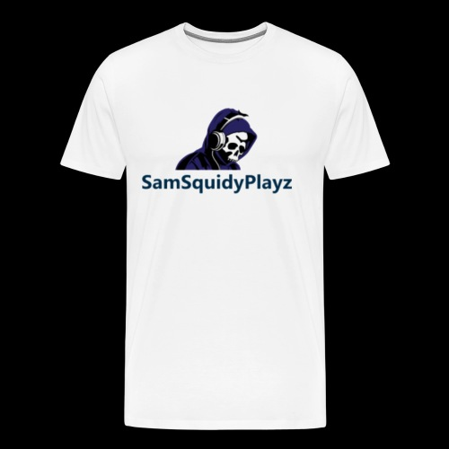 SamSquidyplayz skeleton - Men's Premium T-Shirt