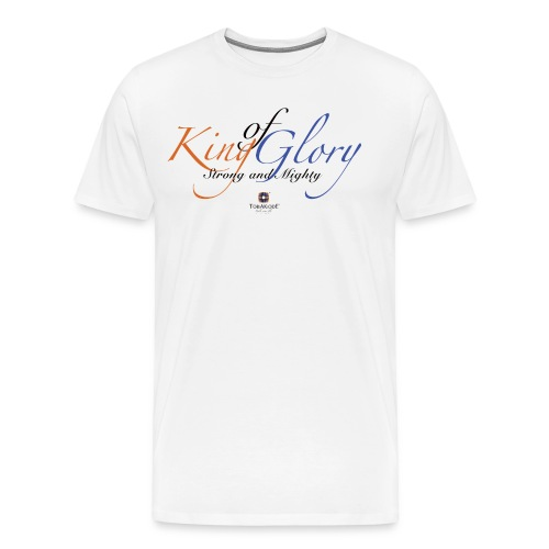 King of Glory by TobiAkiode™ - Men's Premium T-Shirt