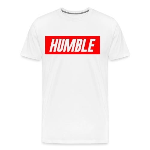 RED Humble Logo - Men's Premium T-Shirt