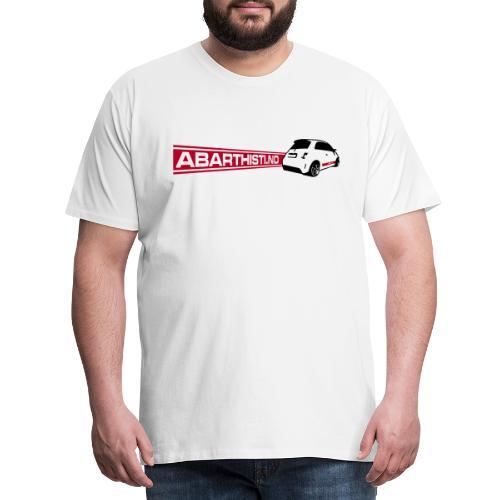 Abarthisti and 500 - Premium T-skjorte for menn