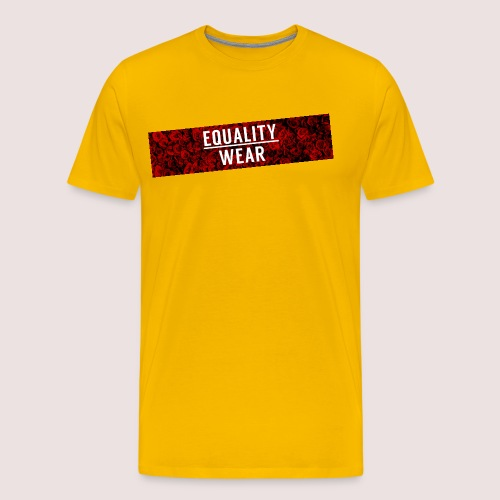 Equality Wear Long Rose Print Edition - Men's Premium T-Shirt