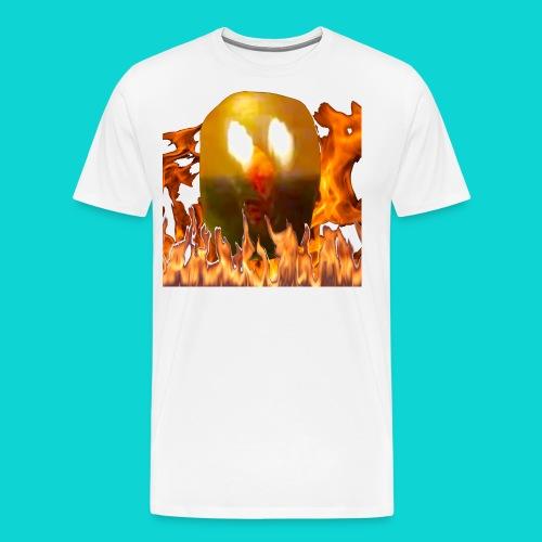Creepy Face Mcguee - Men's Premium T-Shirt