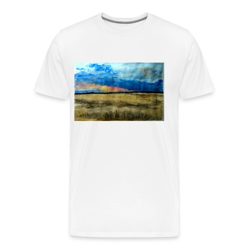 Champs de Californie - T-shirt Premium Homme