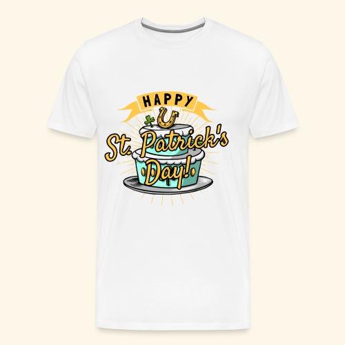 Happy St.Patricks Day T-Shirt - Männer Premium T-Shirt
