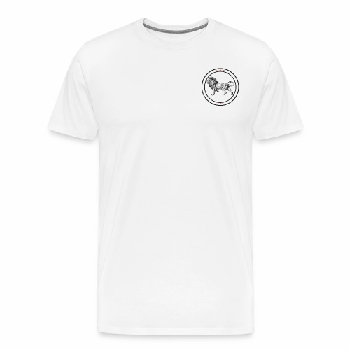 lion Clothing - Herre premium T-shirt