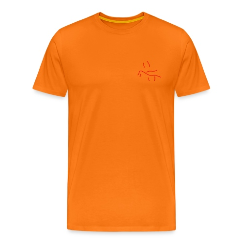 'Drowning in you' (pocket) - Men's Premium T-Shirt