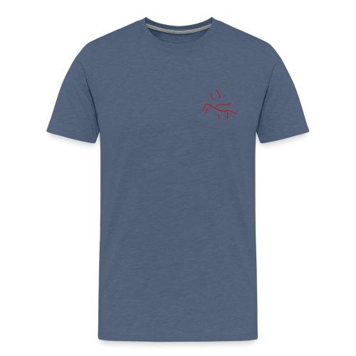 'Drowning in you' (pocket) - Men's Premium T-Shirt