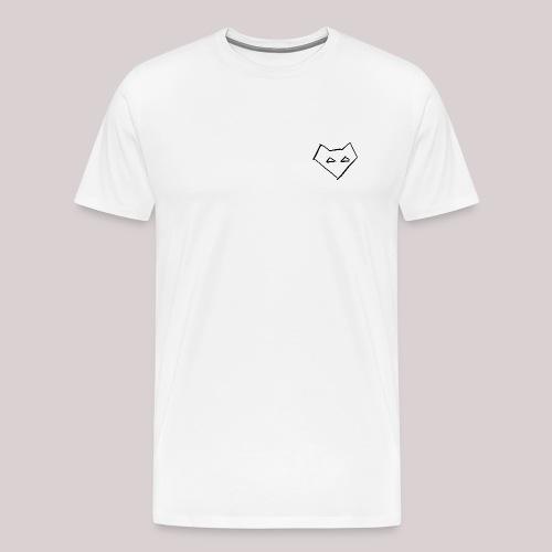 Männer Langärmel Shirt FOX BACKPRINT - Männer Premium T-Shirt