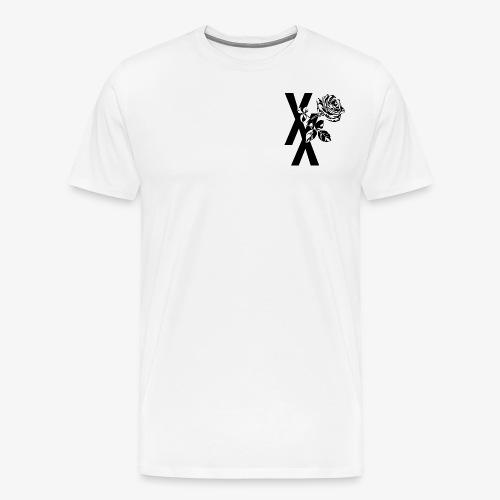 EST19XX ROSE - Mannen Premium T-shirt