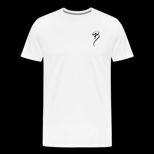 BRAND BLACK LOGO RANGE - Men's Premium T-Shirt