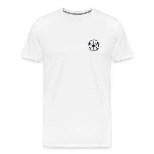 Svart NAF logo - liten - Premium T-skjorte for menn