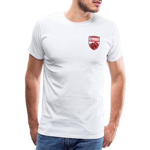 wales bloodbowl team logo complete - Men's Premium T-Shirt