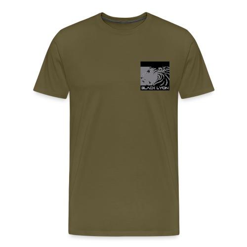 black lyon 8 jpg - Men's Premium T-Shirt