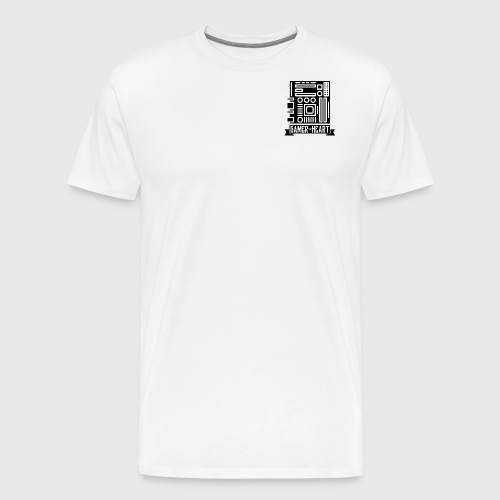 Gamer-Heart - T-shirt Premium Homme